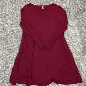 ⚡️3X Himone Swing Dress Long Sleeve EUC